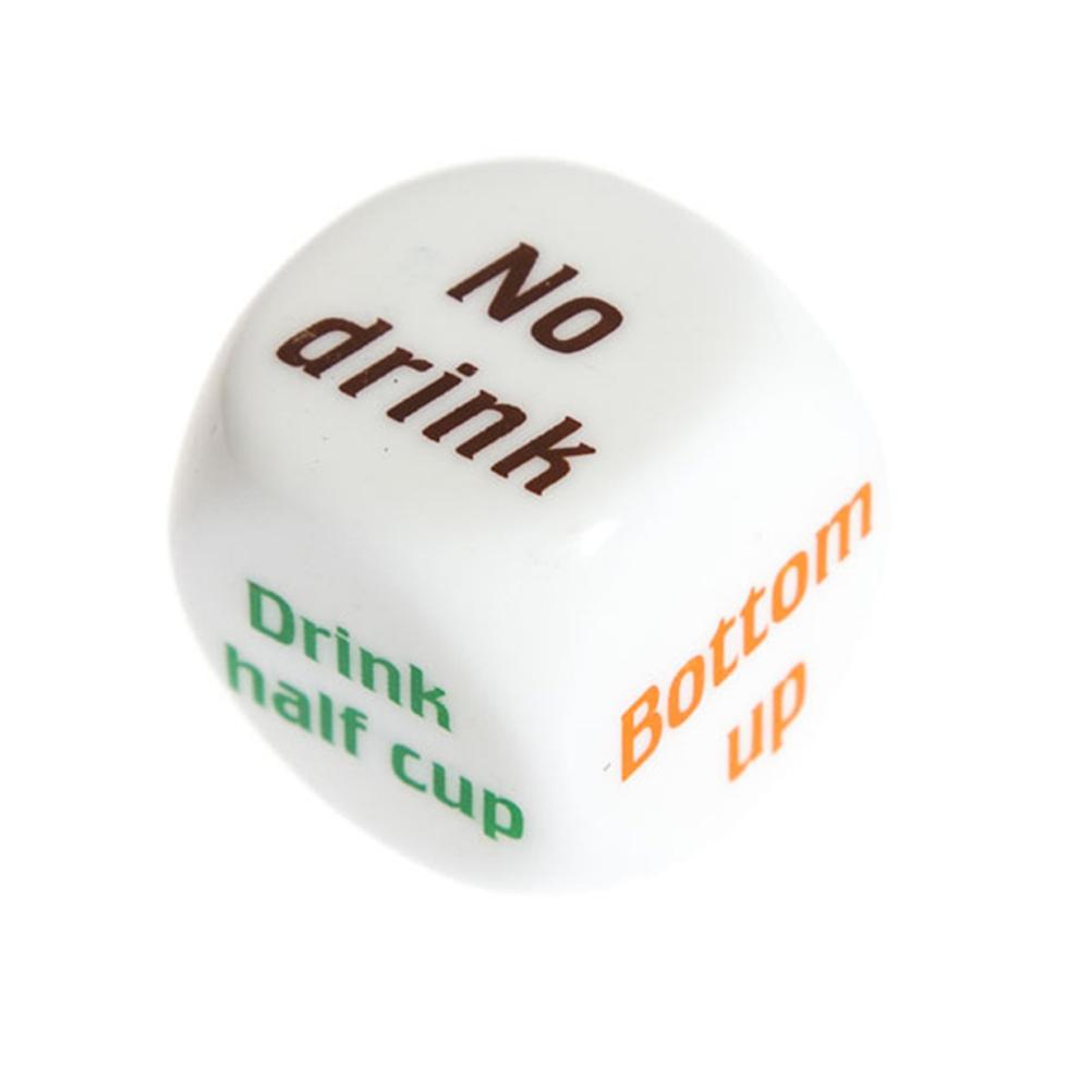 קוביית משחק אלכוהול מחליטה מי ישתה כמה