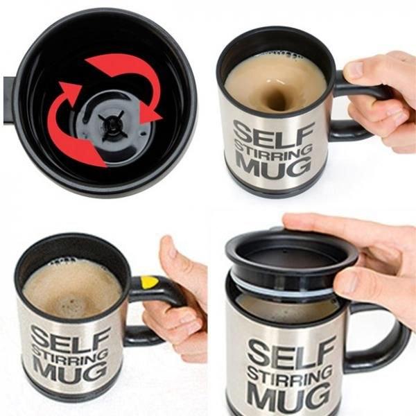 כוס תרמית מקציפה