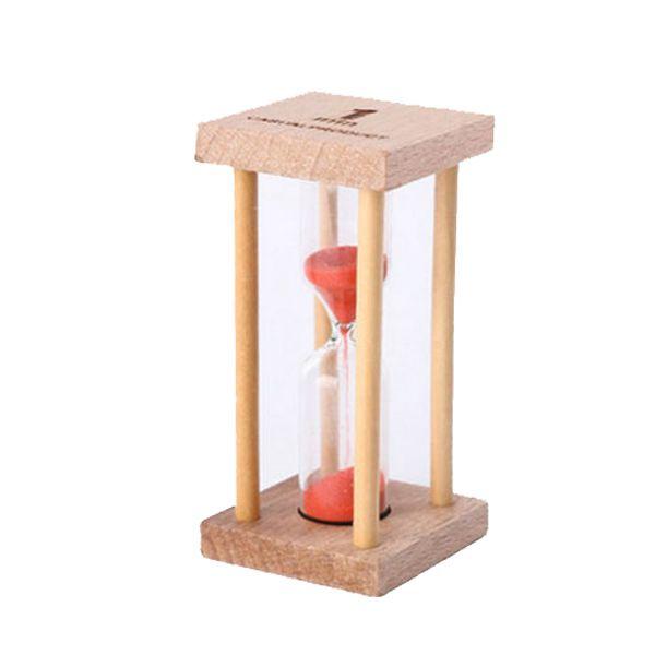 שעון חול במסגרת עץ 1 3 5 דקות