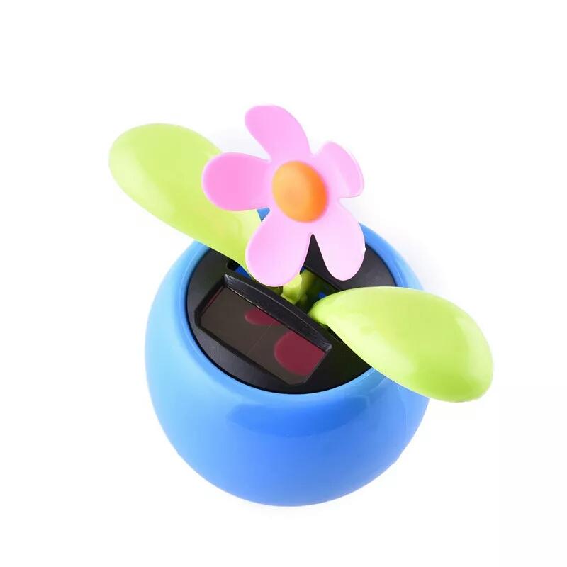 פרח סולארי לרכב