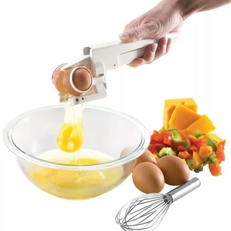 EZ Cracker מכשיר לפתיחת ביצה בקלות והפרדת החלמון מהחלבון