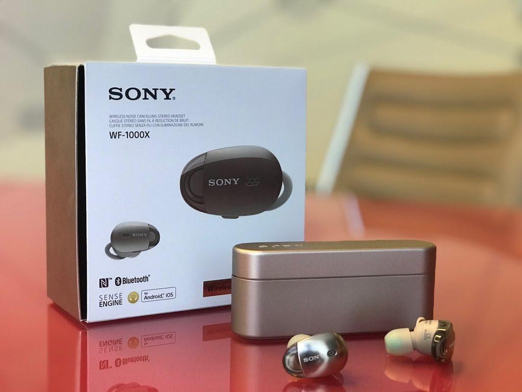 אוזניות אלחוטיות Sony סוני WF1000X