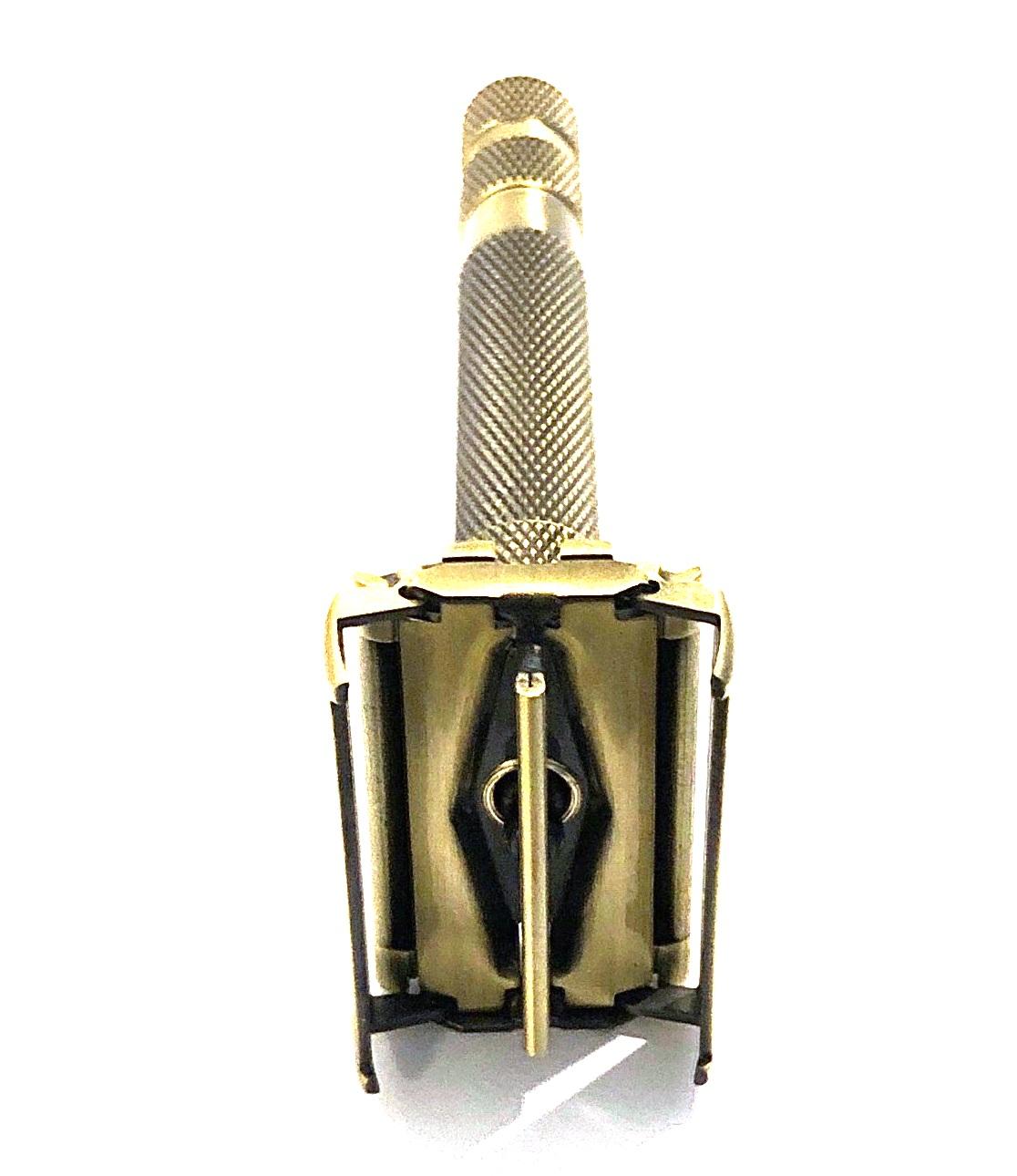 ידית גילוח מתכווננת בפתיחת פרפר גוון נחושת TS68G