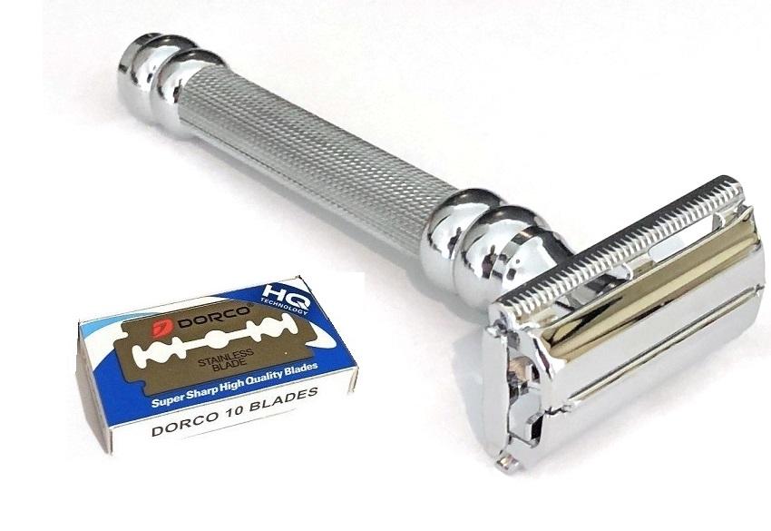 סכין גילוח של פעם בפתיחת פרפר TS15