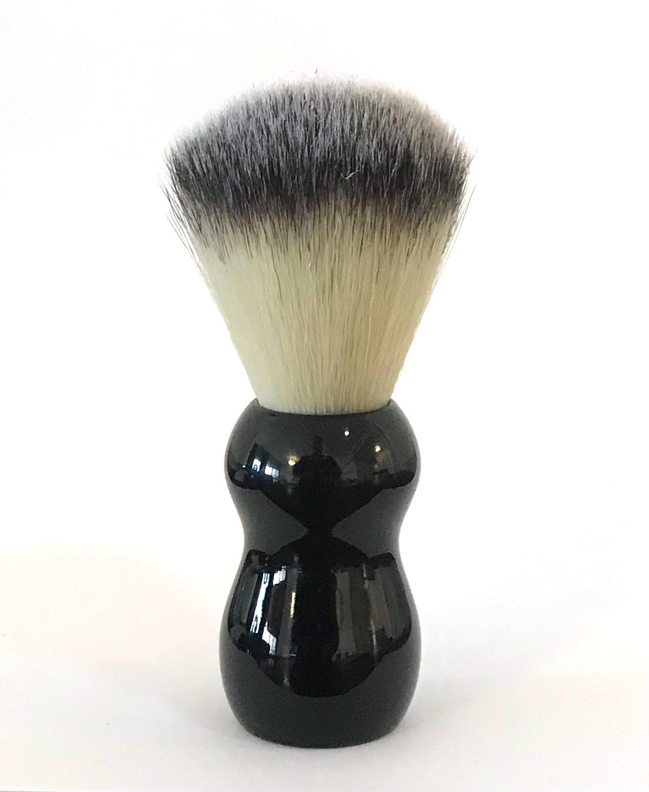 מברשת גילוח וינטג Explosive שחור