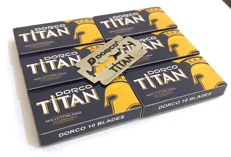 60 יחידות תער גילוח דורקו TITAN