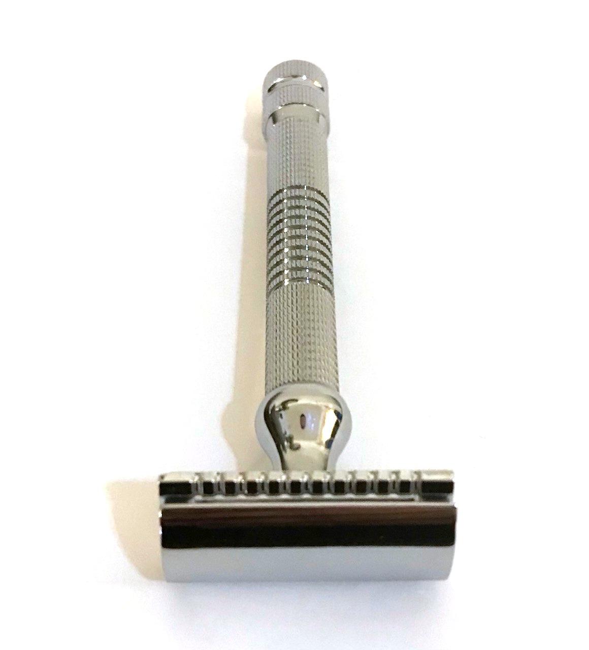סכין גילוח של פעם בפתיחת הברגה TS48