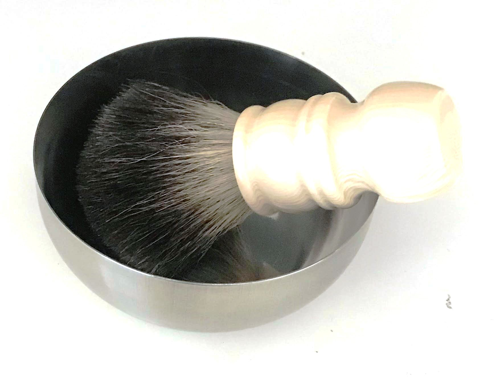 מברשת גילוח אמיתית  Tuxedo כולל קערית