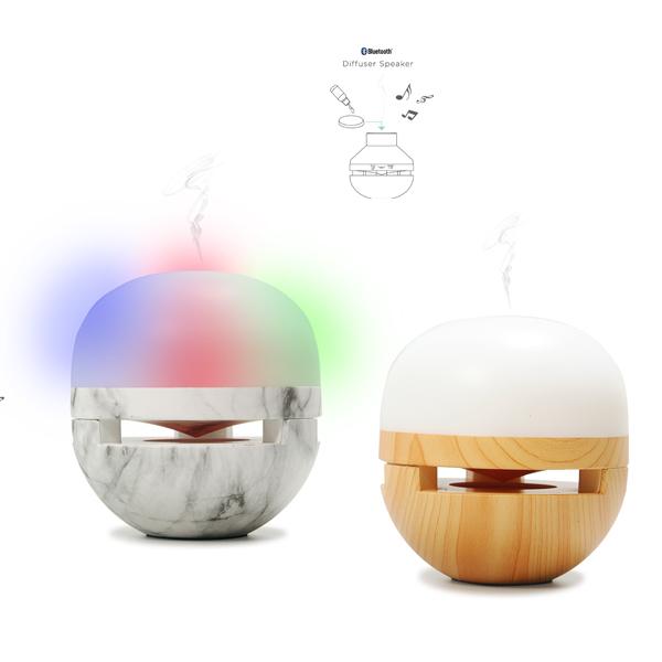 רמקול מפיץ ריח משולב רמקול BT אורות דגם  רילקס