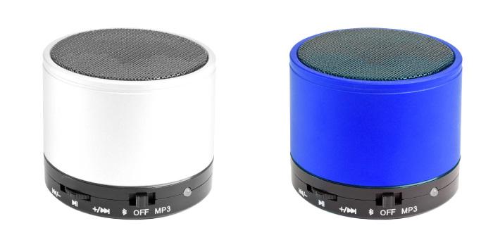 מיני רמקול עשוי מתכת בטכנולוגיית בלוטוס' עם מיקרופון דגם   ספייסר