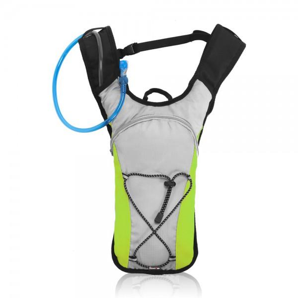 תרמיל מנשא מים  תיק טיולים מעוצב עם שקית שתייה 2 ליטר דגם סאייקל
