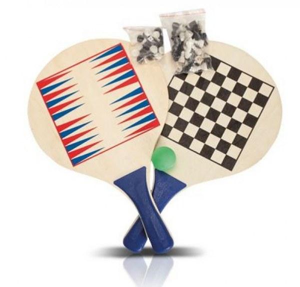 מטקות משחקי לוח דמקה שש-בש ושחמט דגם סקווש