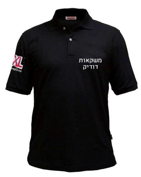 חולצות פולו קצר כולל רקמה