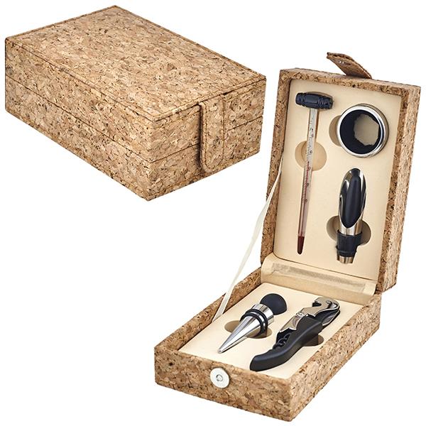 מארז 5 חלקים ליין בקופסאת עץ שעם  דגם שעם