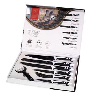 סט סכינים 6 חלקים דגם פרגו