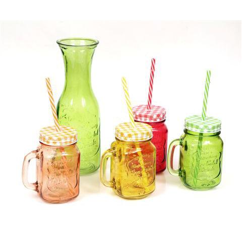 סט ארבע כוסות שייקים ושתייה קלה משולב עם קראף הגשה
