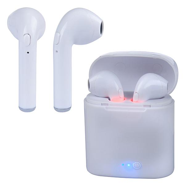 אוזניות Bluetooth in-ear אלחוטיות עם בית טעינה
