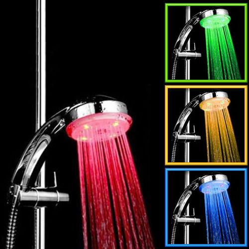 ראש מקלחת LED