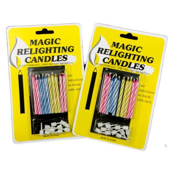 נרות קסם - לא נכבים!