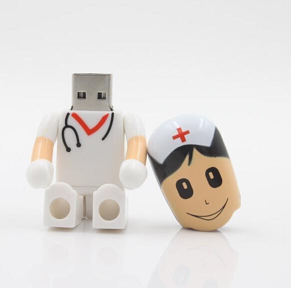 זיכרון נייד 16GB - רופא / דוקטור / אחות