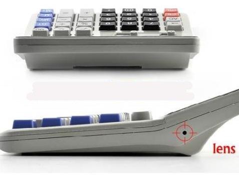 מחשבון שולחני איכותי CASIO עם מצלמה נסתרת 8GB