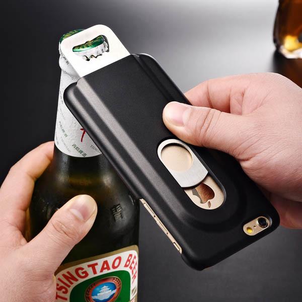 כיסוי / מגן לאייפון עם פותחן בירה