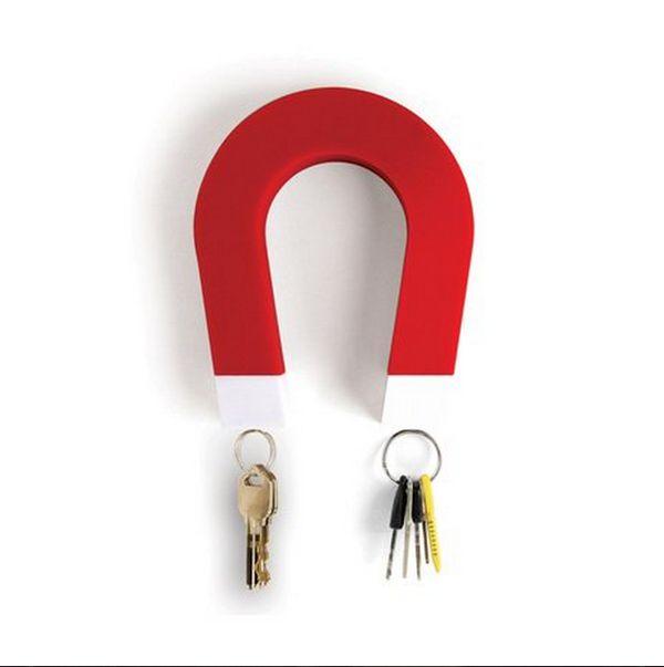 מחזיק מפתחות מגנטי - בעיצוב מגנט