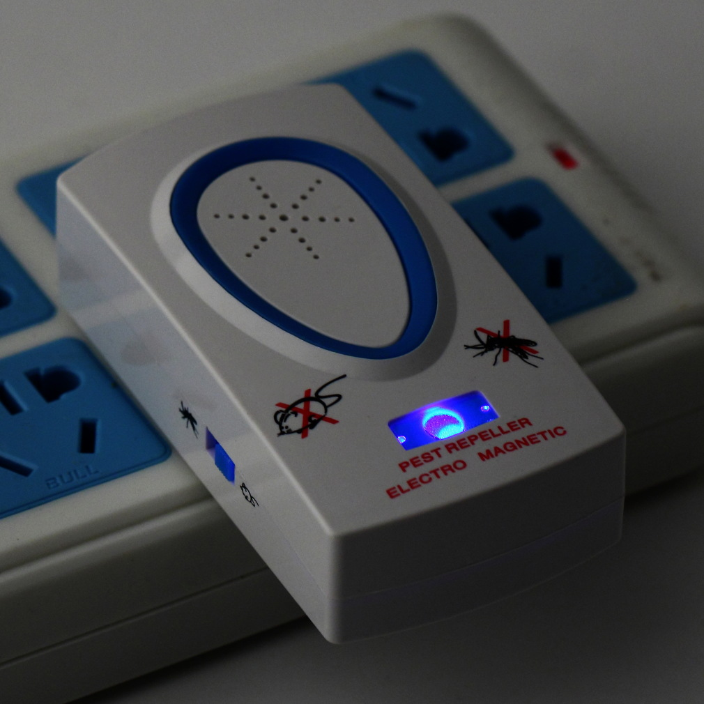 דוחה יתושים ועכברים חשמלי ואקולוגי