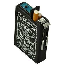 קופסת סיגריות אוטומטית עם מצת טורבו