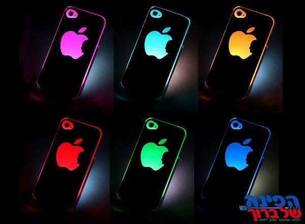כיסוי לד מחליף צבעים Iphone