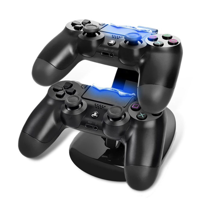 תחנת עגינה וטעינה כפולה לשלטי PS4