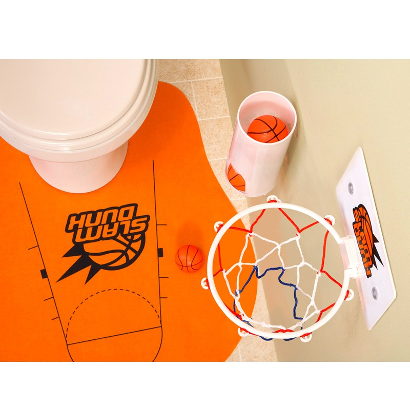 משחק כדורסל לשירותים