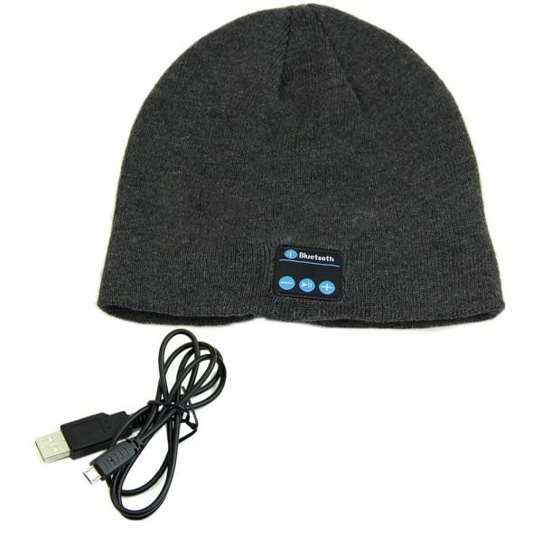 כובע גרב עם אוזניות בלוטוס