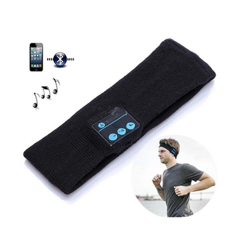 סרט ראש עם אוזניות Bluetooth - לריצה או שינה