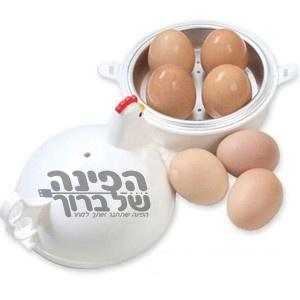כלי לבישול ביצים במיקרו