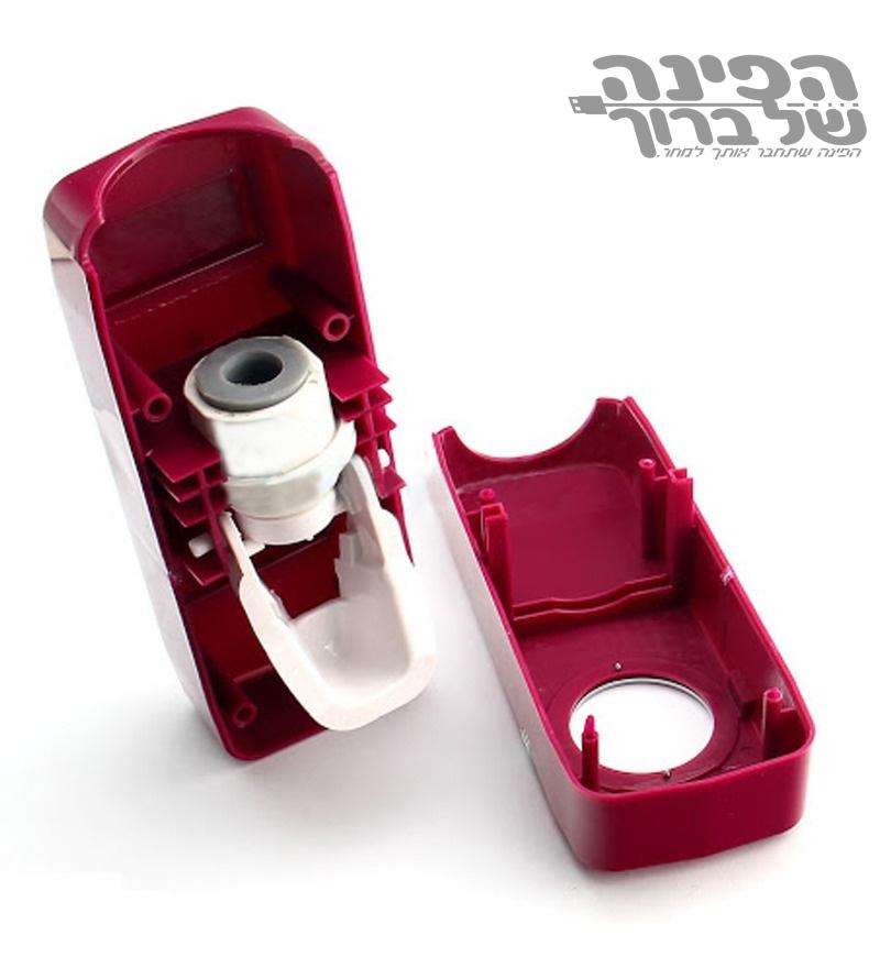דיספנסר אוטומטי למשחת שיניים עם מתקן למברשות