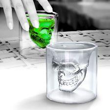 כוס שאטים מגניבה בצורת גולגולת