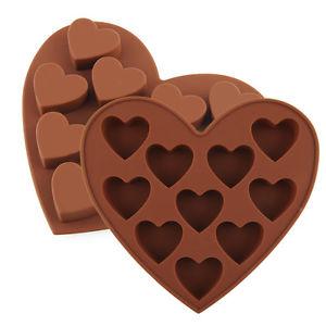 תבנית סיליקון לבבות