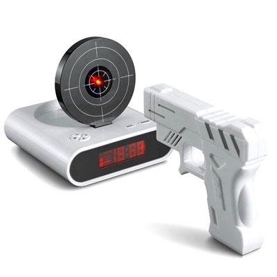 שעון מעורר אקדח קליעה למטרה