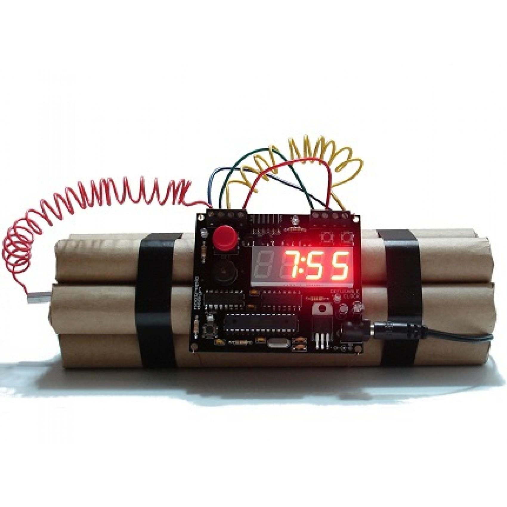שעון מעורר פצצה דינמיט