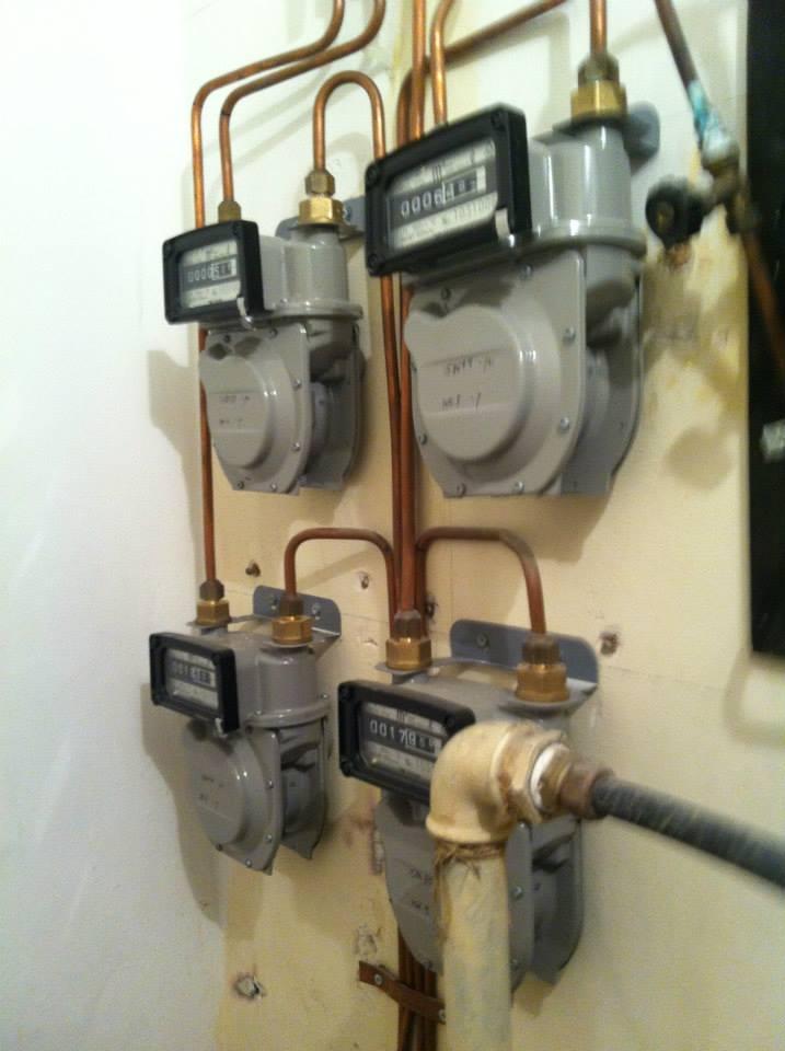 מונה גז ביתי