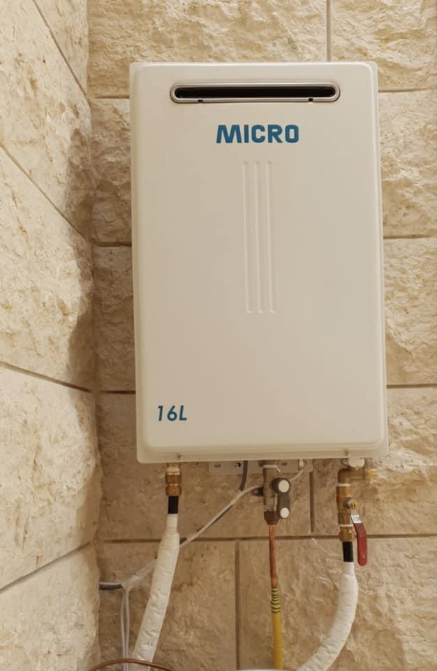 מחממי מים  16  ליטר